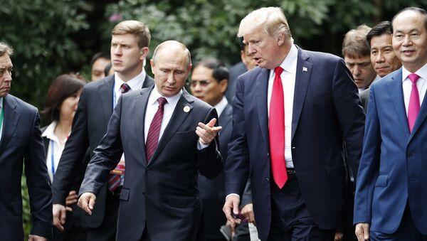 Vladimir Putin a Donald Trump - Sputnik Česká republika
