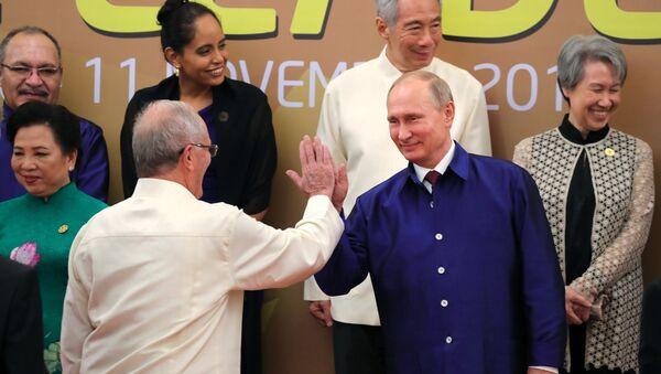 Návštěva prezident RF Vladimira Putina ve Vietnamu - Sputnik Česká republika