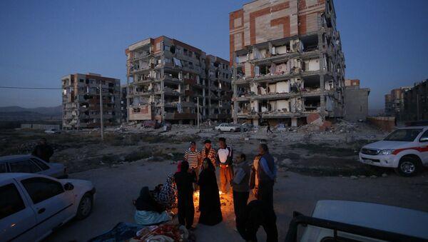 Následky zemětřesení v Íránu - Sputnik Česká republika