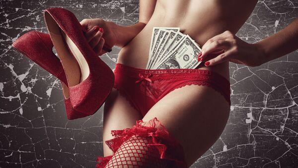 Striptérka. Ilustrační foto - Sputnik Česká republika