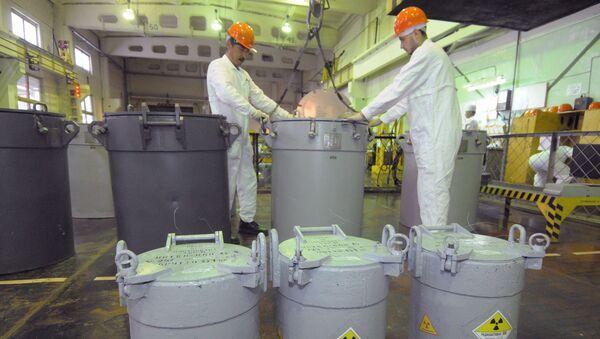 Zpracované jaderné palivo v chemičce Majak v Čeljabinské oblasti - Sputnik Česká republika