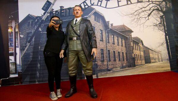 Socha Hitlera v indonéském muzeu De-Mata - Sputnik Česká republika