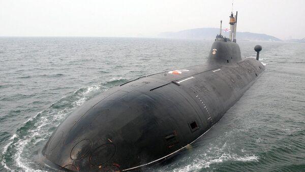 Ponorka К-152 Něrpa, kterou si koupila Indie - Sputnik Česká republika