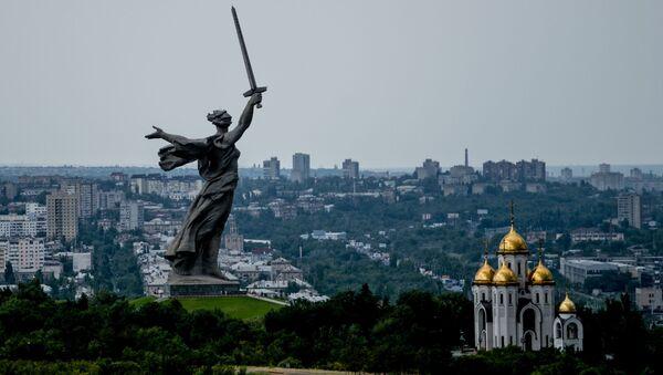 Monument Matka vlast volá ve Volgogradu - Sputnik Česká republika