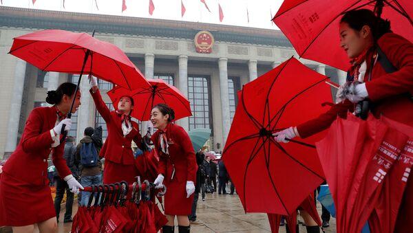 Před zahájením sjezdu Čínské komunistické strany - Sputnik Česká republika