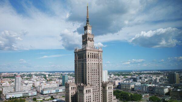 Palác vědy a kultury ve Varšavě - Sputnik Česká republika