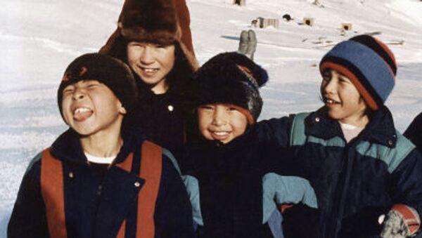Děti na Aljašce - Sputnik Česká republika