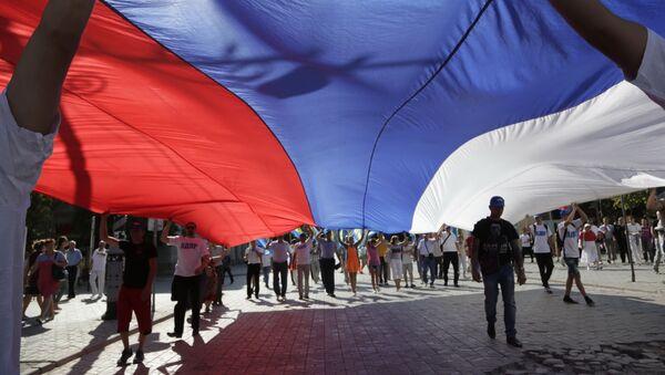 Vlajka Ruska - Sputnik Česká republika