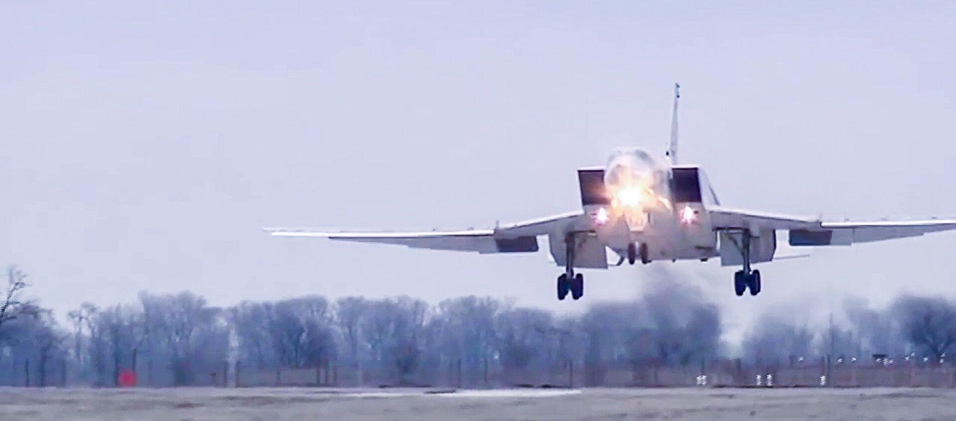 Rosyjski bombowiec dalekiego zasięgu Tu-22 M3. - Sputnik Česká republika, 1920, 20.02.2020