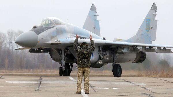 Ukrajinská stíhačka MiG-29 - Sputnik Česká republika