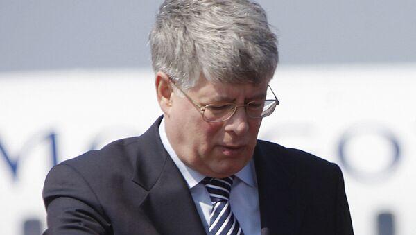 Stálý ruský zástupce při OSN a dalších mezinárodních organizacích v Ženevě Alexej Borodavkin - Sputnik Česká republika