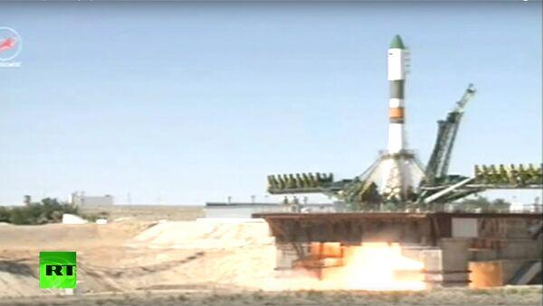 Start kosmické lodě Progress k ISS - Sputnik Česká republika