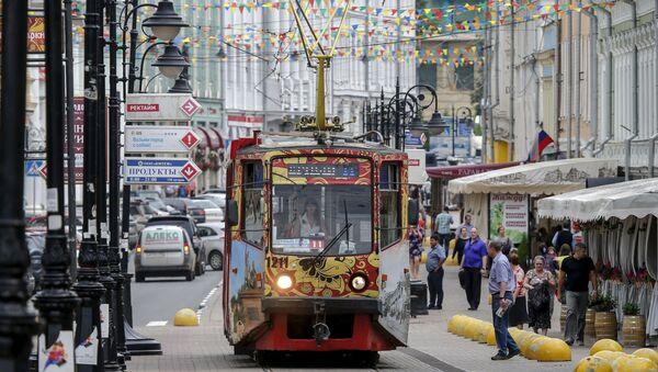 Tramvaj v Nižním Novgorodu - Sputnik Česká republika