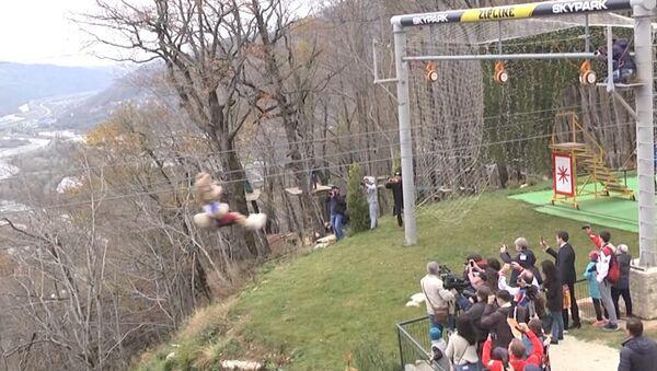 V očekávání velkého fotbalu: do Soči dorazila trofej MS 2018 - Sputnik Česká republika