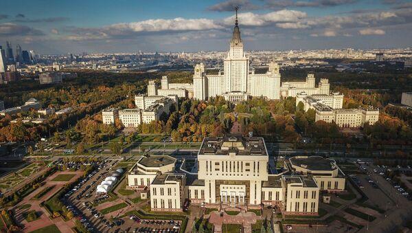 Přední ruská vysoká škola - Lomonosova univerzita - Sputnik Česká republika