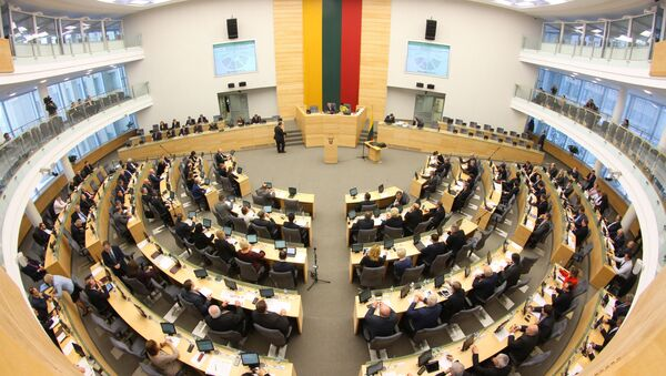 Litevský parlament - Sputnik Česká republika