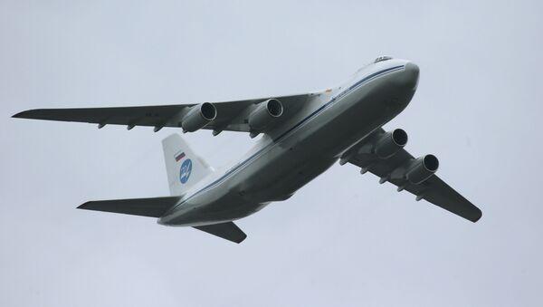 Letadlo An-124 - Sputnik Česká republika