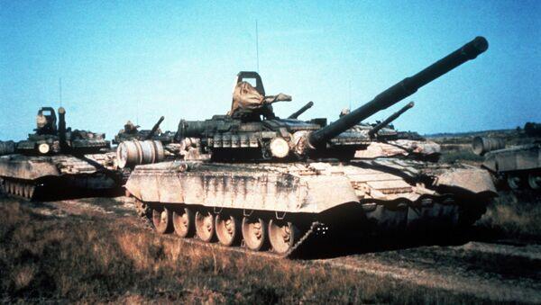 Sovětský tank T-80. Ilustrační foto - Sputnik Česká republika