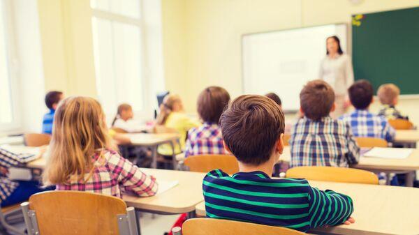 Žáci ve třídě - Sputnik Česká republika