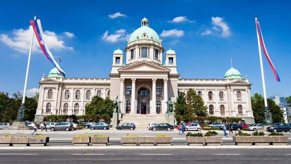 Skupština (parlament Srbska) - Sputnik Česká republika