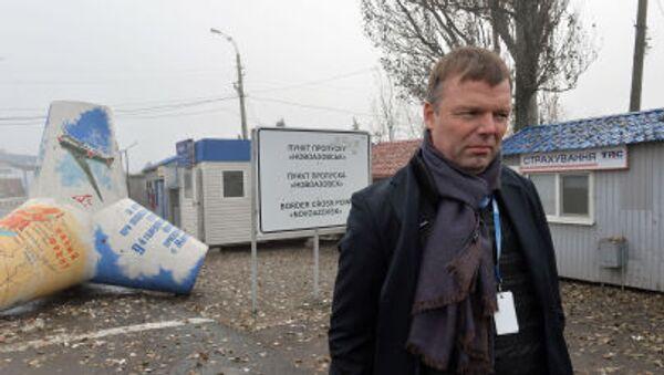 První místopředseda Speciální monitoringové mise OBSE na Ukrajině Alexandr Hug - Sputnik Česká republika