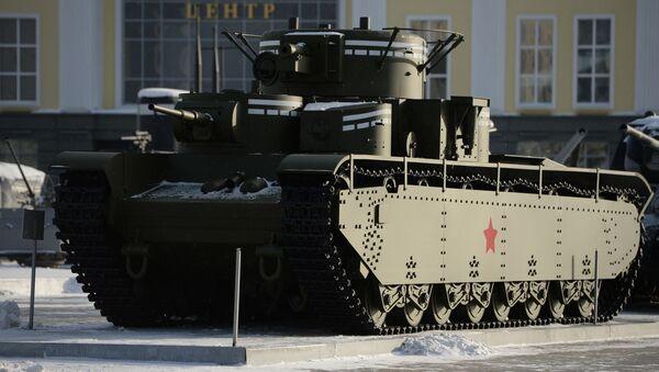 Těžký tank T-35 - Sputnik Česká republika