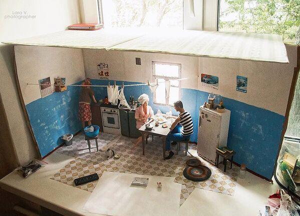 Sovětský společný byt byl vytvořen z obyčejné krabičky. - Sputnik Česká republika