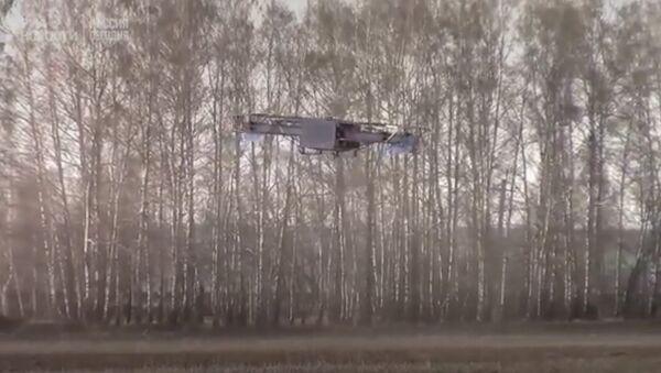 Ruský Hulk: čtenáři britských médií zhodnotili nový ruský dron. Video - Sputnik Česká republika