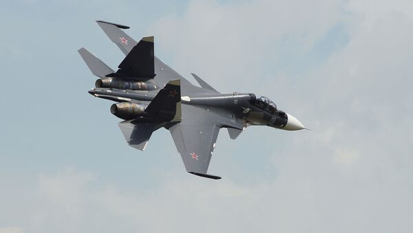 Stíhačka Su-30SM - Sputnik Česká republika