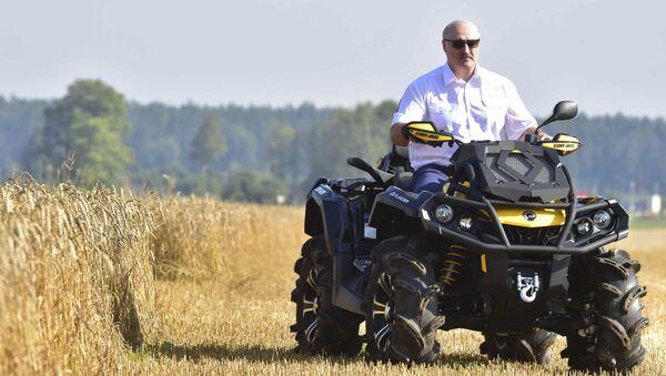 Běloruský prezident Alexandr Lukašenko. Ilustrační foto - Sputnik Česká republika