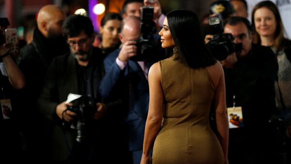 Televizní osobnost Kim Kardashian - Sputnik Česká republika