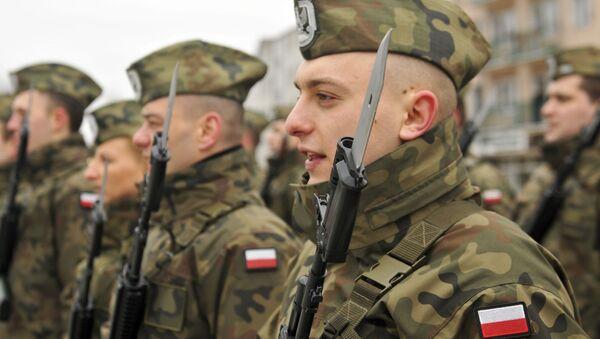 Polští vojáci - Sputnik Česká republika