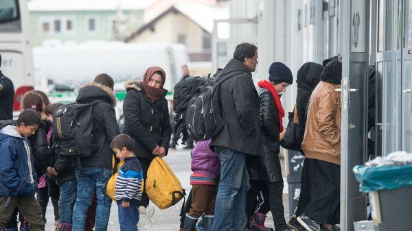 Migranti v Pasově - Sputnik Česká republika