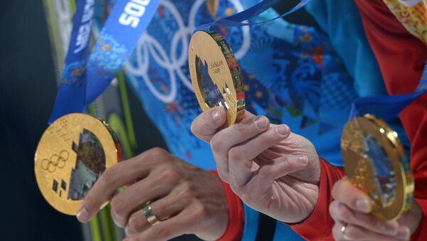 Medaile z OH 2014 - Sputnik Česká republika