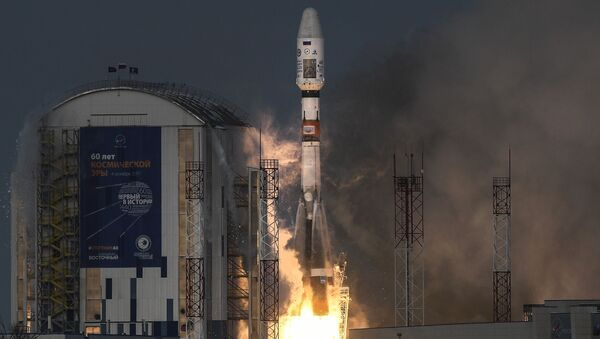 Nosná raketa Sojuz-2.1b - Sputnik Česká republika