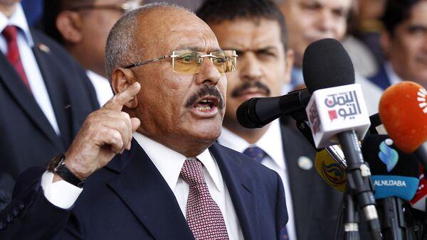 Bývalý jemenský prezident Alí Abdalláh Sálih - Sputnik Česká republika