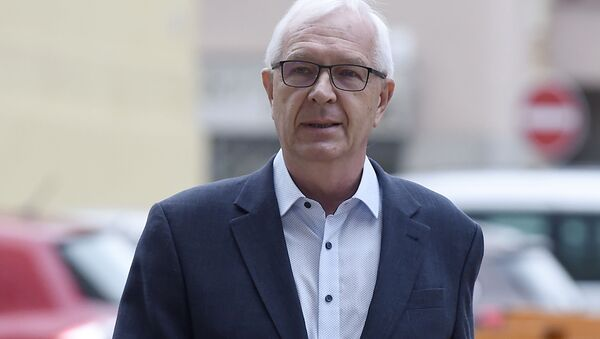 Kandidát na post českého prezidenta, bývalý ředitel Akademie věd Jiří Drahoš - Sputnik Česká republika