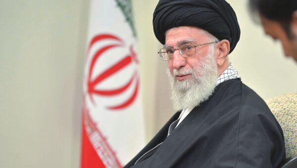 Duchovní vůdce Íránu ajatolláh Alí Chameneí - Sputnik Česká republika