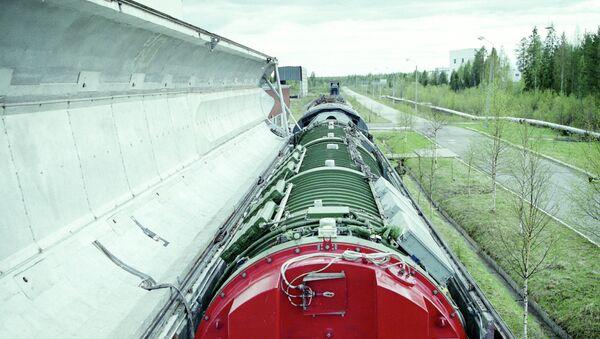 Bojový železniční raketový komplex - Sputnik Česká republika