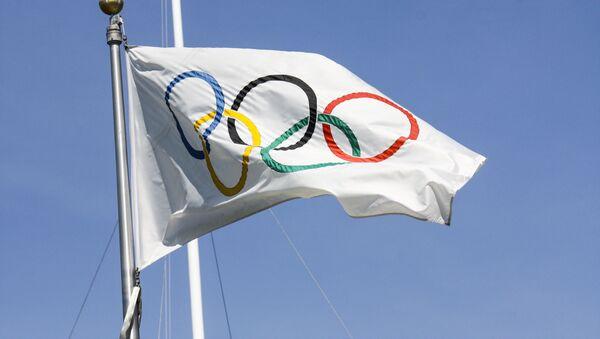 tradiční olympijská vlajka - Sputnik Česká republika
