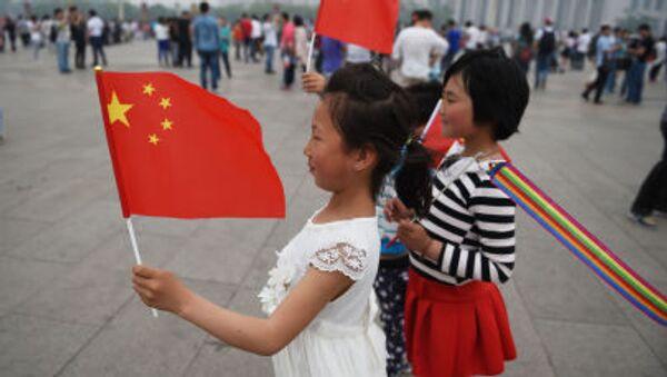 Děti v Pekingu - Sputnik Česká republika