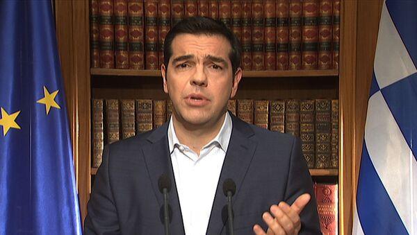 Předseda řecké vlády Alexis Tsipras - Sputnik Česká republika