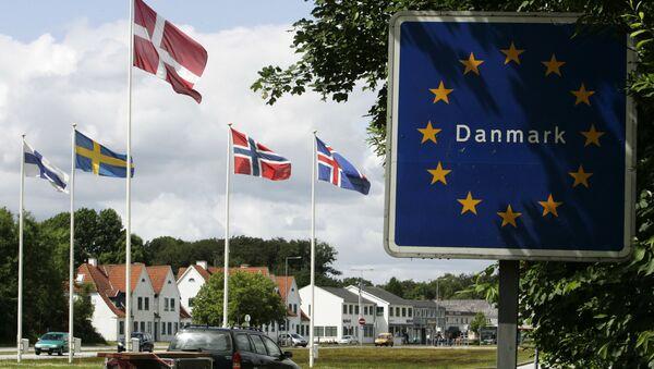 Hranice mezi Německem a Dánskem - Sputnik Česká republika