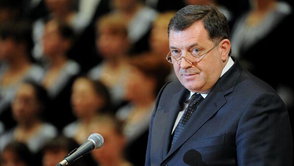 Milorad Dodik - Sputnik Česká republika