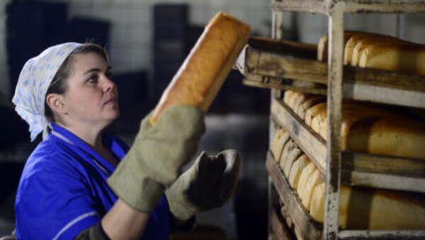 Pracovnice v pekárně. Ilustrační foto - Sputnik Česká republika