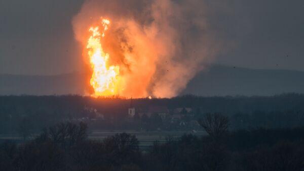 Výbuch plynovodu. Ilustrační foto - Sputnik Česká republika