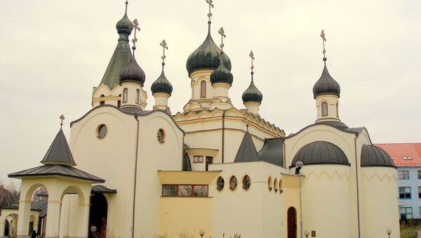 Pravoslavná katedrála Alexandra Něvského ve slovenském Prešově - Sputnik Česká republika