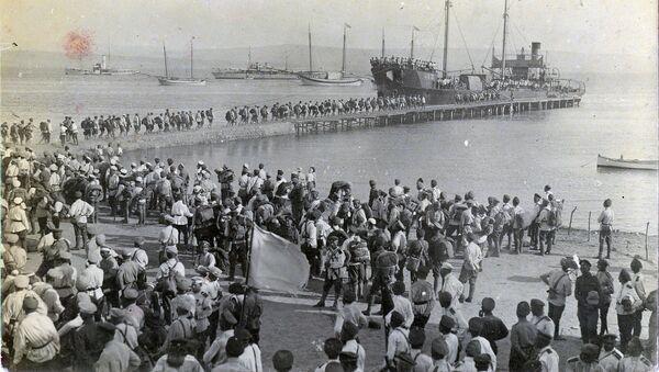 Krymská evakuace 1920 - Sputnik Česká republika