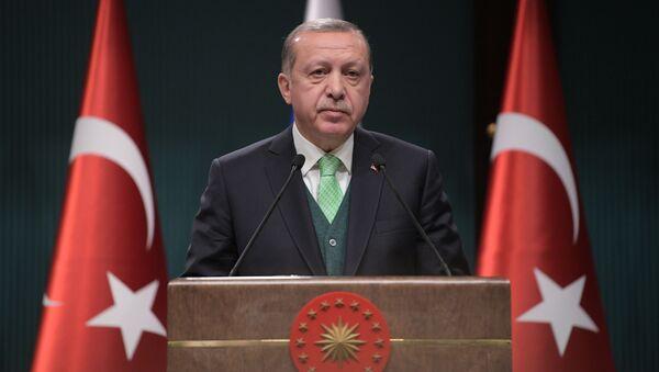 Turecký prezident Recep Tayyip Erdoğan - Sputnik Česká republika
