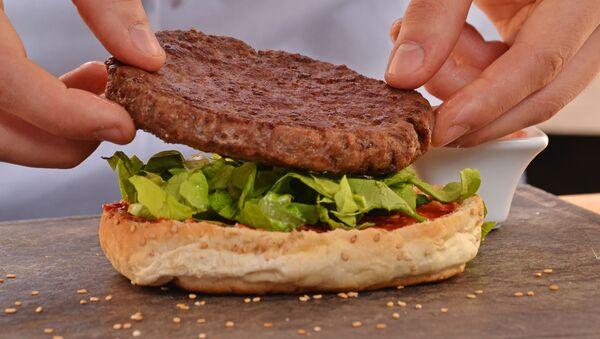 Burger. Ilustrační foto - Sputnik Česká republika